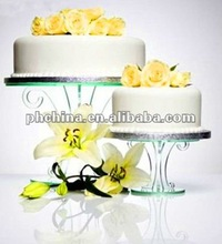 VC-234 Elegant 2 layer crystal acrylic wedding cupcake stand,PMMA cupcake holder