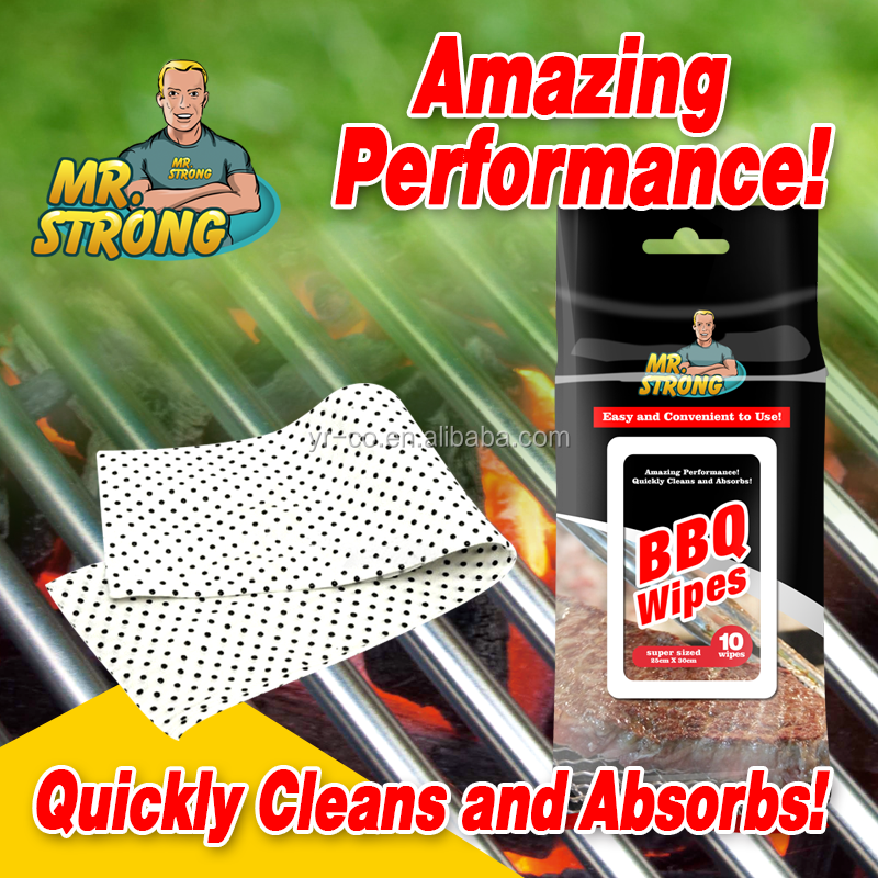 YRBQWCW207 BBQ Grill Cleaning Wipes Hot in Canada