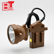 China Manufacturer Miners 3 Watt LED Mining Cordless Rechargeable Headlamp