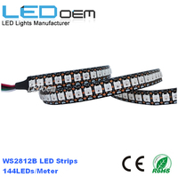 5v led strip light ws2812b 144 led pixel strip