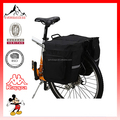 600D / PVC Waterproof 37L Double Saddle Bags For Bicycles