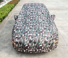 Convenient UV Protection Camouflage Car Cover