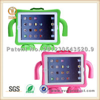 For Heavy Duty iPad Case Kids Shock Proof Foam Case Handle Cover Stand