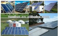 makeup full set solar central heating system for home applications 5kw home solar system