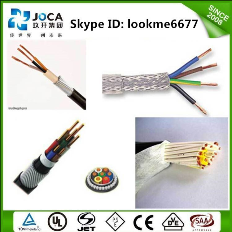 KVVP/KVVRP PVC Control wire high flexible cable for drag chain or machie tool robot