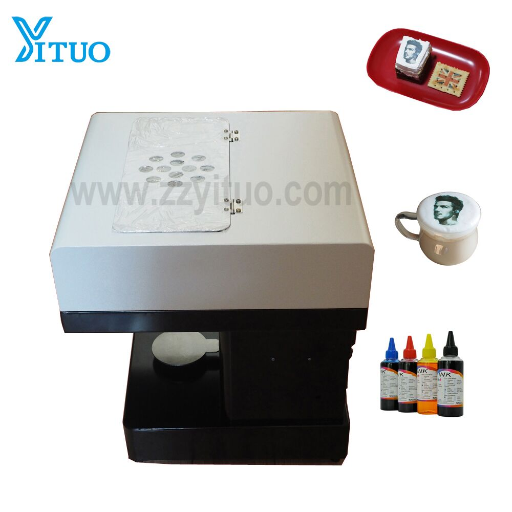 3D digital inkjet printing machine 2018 most popular latte cappuccino coffee printer coffee printer