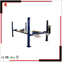 4 post car lift for vehicle maintain with CE