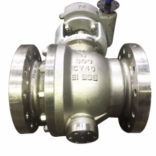 High Quality Electric Motor Flanged a216 wcb ball Valve