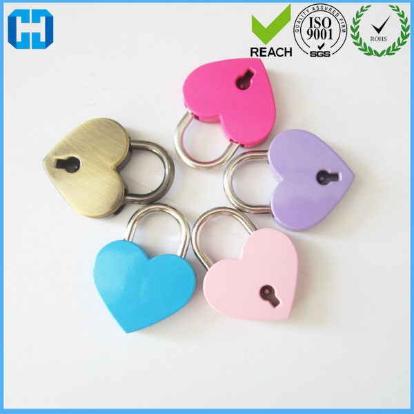 Hot Sales Cute Mini Love Heart Padlock For Wedding