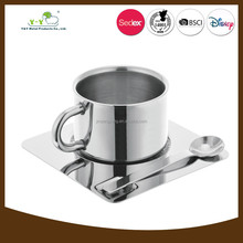Home decorative stainless steel portable coffee cup