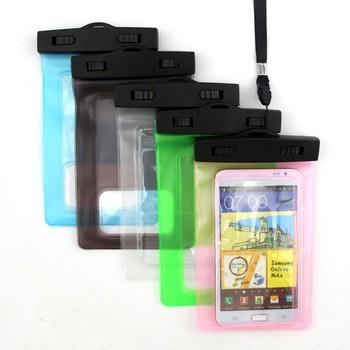 Mobile Phone Sealed 100% Waterproof Bag Pouch For Smartphones