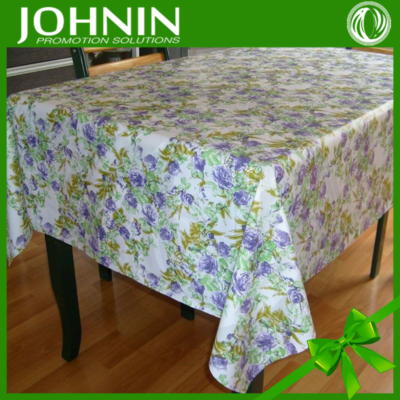 OEM pvc wall panel China factory top quanlity customized promotionall fashional pvc table cloth