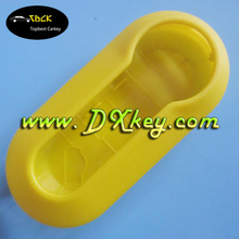 Yellow Color replacement fake car key for fiat key shell fiat 500 key cover