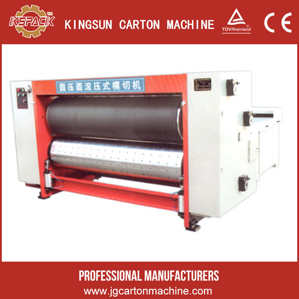 automatic rotary corrugated paper sheet roll die cutting machine