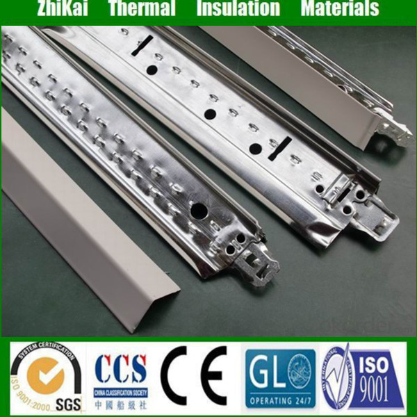 32*24 Home design Galvanized suspended ceiling grid/ wall angle