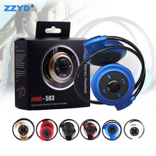 Mini503 Sport Bluetooth 4.1 headphones Wireless Music Stereo Earphones hands free Cell Phone