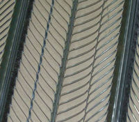 Galvanized Expanded Metal Rib Lath/Stucco construction High rib /Formwork Rib Lath thickness 0.30 mm
