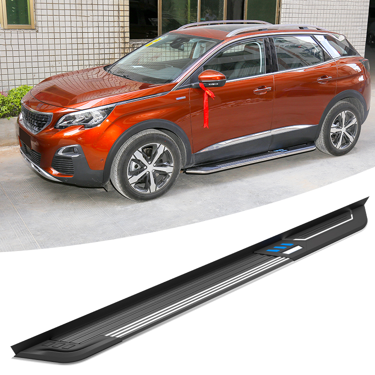 SHIWEI STYLE 2017 new Peugeot 3008 side step for auto running board accessories