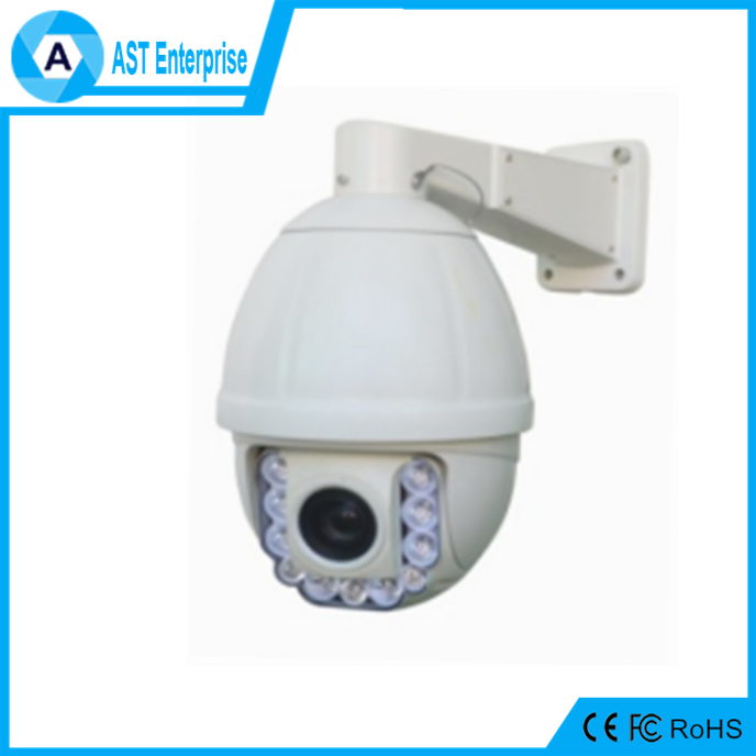 ce rohs auto tracking 30x zoom camera 700tvl ptz analog high speed dome camera