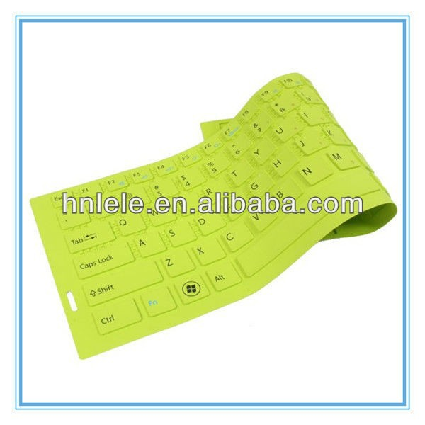 Supply excellent fashion silicone keyboard cover dust cover