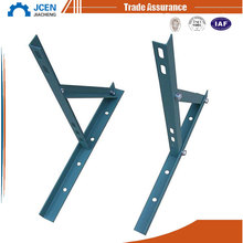 customized provide OEM service car bracket and 90 degree wall mount angle bracket