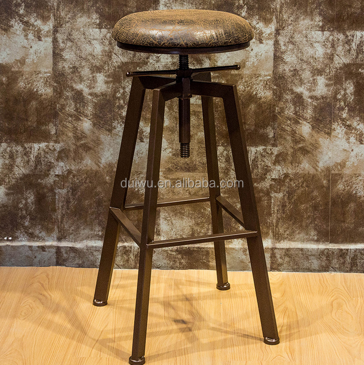 Foshan manufacturer cheap kitchen norman cherner replica bar stool metal