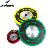 PROTEAM IWF international competition colour coding PU olimpic weight plates