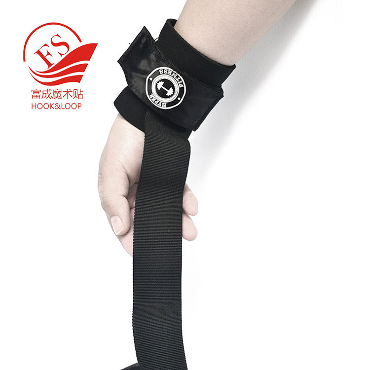 Gym Accessories Weight Lifting Training Wraps Straps with custom logo