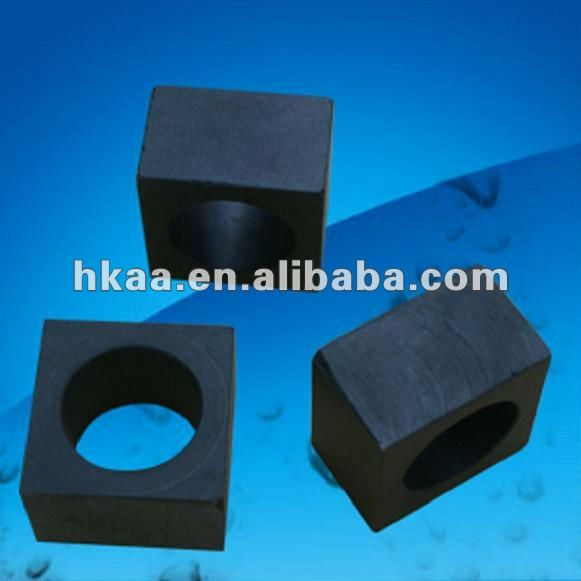 black square to round bushing