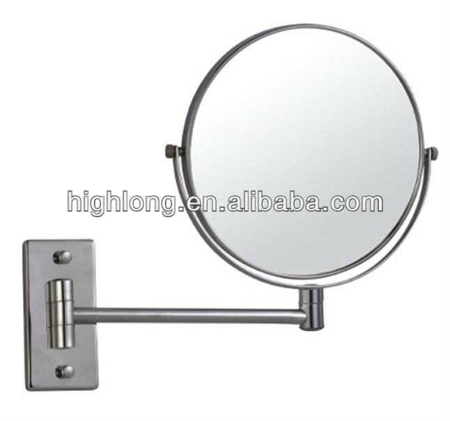 HL-1266 brass shaving cosmetic bathroom mirror infinity mirror
