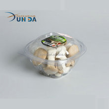 Hotsale Disposable Plastic Packaging Box for Mushroom