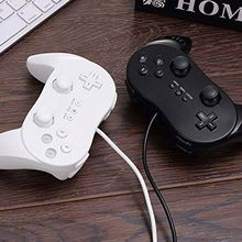 Joypad Wholesale For Wii Pro Wired Classic Controller Remote