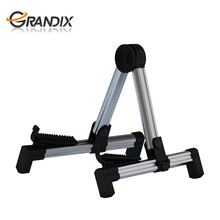 High Quality Aluminum Factory Price Universal Tripod Height-Adjustable guitar stand