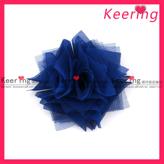 Petal fabric rose flowers decoration for wedding WSF-262