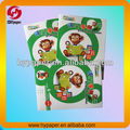 children educational brochure with glossy lamination