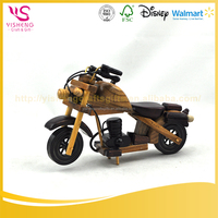 China Wholesale Custom wooden motorcycle model