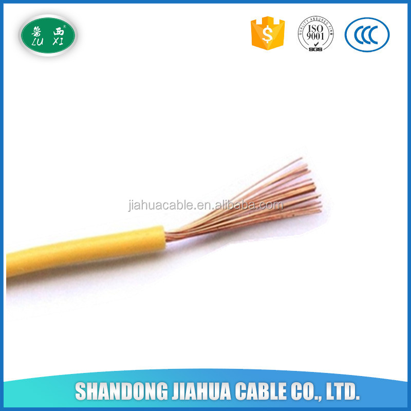 Single Core Flexible PVC Copper Electrical Wire 16mm