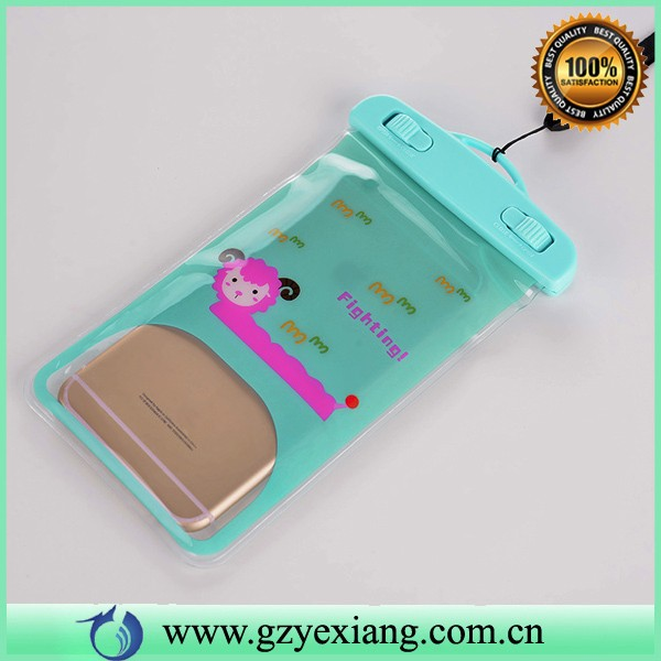 fancy mobile phone cover waterproof case for lenovo a7000 pvc waterproof bag