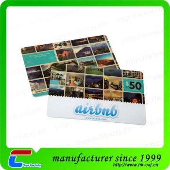 Top Quality Pre-Printed Custom Plastic Loyalty Cards