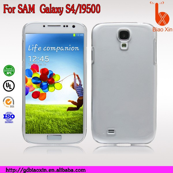 Transparent case for samsung galaxy S4/I9500,hight quality phone case for samsung galaxy s4