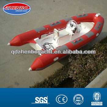 5m CE RIB boat/FRP inflatable boat/Rigid inflatable boat RIB500