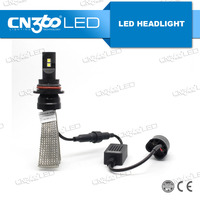 Factory supply 12v 20w led auto car h4 led headlight bulb 9007