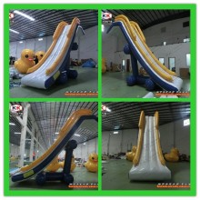 Inflatable Water Slide For Ship Sailing Voyage Travel Yacht Fishing Swimming For Adult