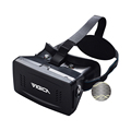 2017 Cheapest Virtual Reality VR Headset 3D Video Glasses Google Cardboard Plastic Version for 3d Movies Games 3.5-6 Inch phone