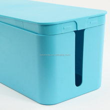 wholesale manufacturers cover and hide power strip cordes storage box plastic cable organzier box