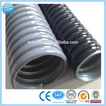 Wiring Flexible Stainless Steel electrical Conduit/PVC cover/PE coated stainless steel pipe