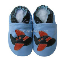 7 sizes 0-24 monthes infant toddler crib shoe moccasins genuine leather baby shoes