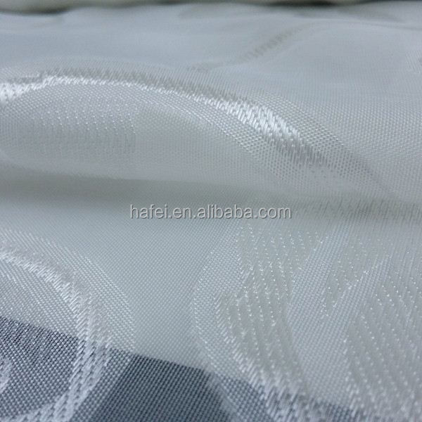Hotel curtain fabric slub poly duping fabric for curtain