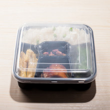 Microwave PP Plastic 3 Compartments Food Container