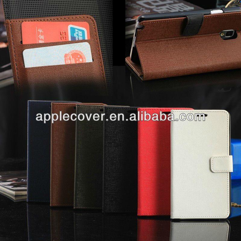 For Clone Galaxy note 3 Business Leather cases,case for note 3